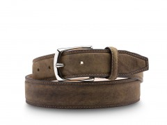 Bosca The Allegro Belt 36632-368 368 Moss