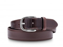 Bosca The Paris Belt 36732-369 369 Dark Brown