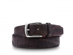 Bosca The San Remo Belt 36932-344 344 Dark Brown