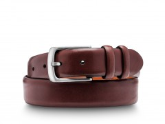 Bosca Addio Belt 37034-58 58 Dark Brown