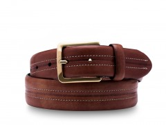 Bosca Pavia Belt 37134-218 218 Dark Brown