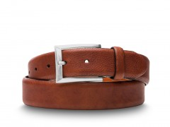 Bosca Americano Belt 37432-158 158 Dark Brown