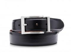 Bosca Flipside Belt 38032-349 349 Black/Tan