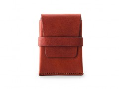 Bosca Envelope Card Case 439-132 132 Cognac