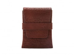 Bosca Envelope Card Case 439-158 158 Dark Brown