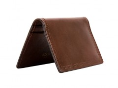 Calling Card Case-218 Dark Brown