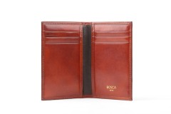 Bosca 8 Pocket Credit Card Case 443-32 32 Cognac 8 Pocket Credit Card Case