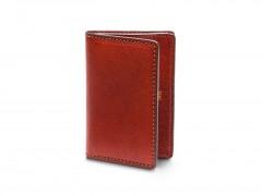 Bosca Full Gusset, 2 Pkt Card Case w/I.D. 449-132 132 Cognac