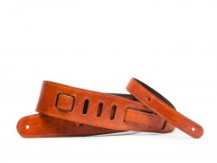 Guitar Strap with Pick Pocket-217 Amber