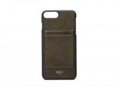 Bosca iPhone 8 Case with Card Slots on Back 530-152 152 Dark Green