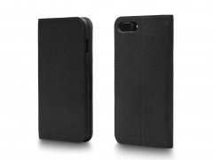 Bosca iPhone 8 Flip Case with Cards Inside 531-150 150 Black