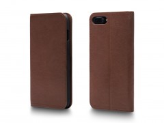 Bosca iPhone 8 Flip Case with Cards Inside 531-151 151 Dark Brown