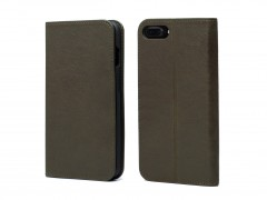 Bosca iPhone 8 Flip Case with Cards Inside 531-152 152 Dark Green