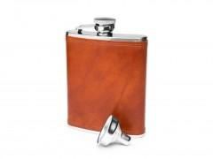 Flask - 6 oz-217 Amber