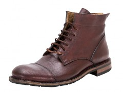 Bosca Washed Leather Chukka 5550-658 658 Dark Brown