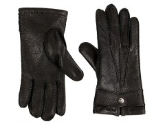 Deerskin Glove-960 Black-Small
