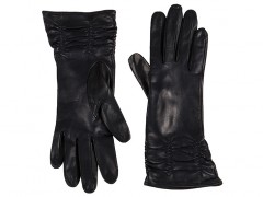 Long Lambskin Glove w/ Pleat-
