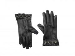 Bosca Lambskin Glove w/ Silk Lining 5692-964 964 Black