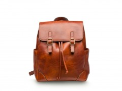 Bosca Sparrow Small Leather Backpack 6001-217 217 Amber