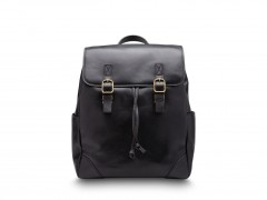 Bosca Sparrow Small Leather Backpack 6001-219 219 Black