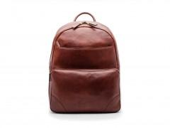 Bosca Dolce Leather Backpack 6002-218 218 Dark Brown
