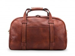 Bosca Vintage Duffle Bag 6005-158 158 Dark Brown