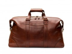 Bosca Dolce Duffle Bag 6009-218 218 Dark Brown