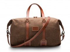Bosca Tuscan Duffle Bag 6013-370 370 Brown