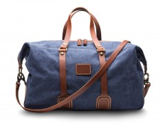 Bosca Tuscan Duffle Bag 6013-371 371 Denim Blue