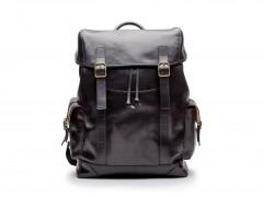 Bosca Pathfinder All Leather Backpack 6020-219 219 Black