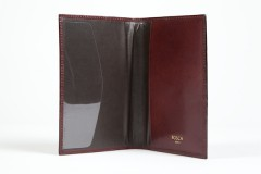 Bosca Passport Case 621-58 58 Dark Brown Passport Case