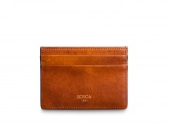Bosca Easy-Access Card Wallet 64-217 217 Amber