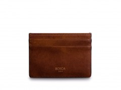 Bosca Easy-Access Card Wallet 64-218 218 Dark Brown