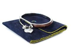Ostrich Palladium Bracelet