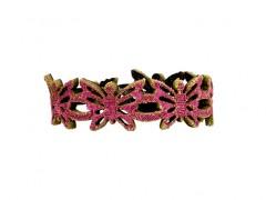 Bosca Butterfly Bracelet 7007-352 352 Fuchsia Butterfly Bracelet-352 Fucshia