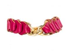 Bosca Infiniti Bracelet 7008-33 33 Fuchsia Infiniti Bracelet-33 Fuchsia
