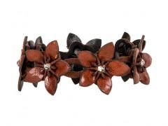 Bosca Dahlia Bracelet 7010-27 27 Amber Dahlia Bracelet-27 Amber