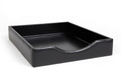 Bosca Letter Tray Without Lid 732-100 100 Black Letter Tray Without Lid