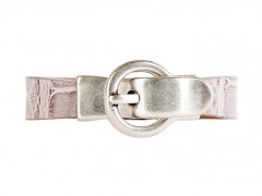 Alligator Bracelet-174 Grey-Small