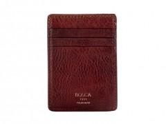 Deluxe Front Pocket Wallet-658 Dark Brown