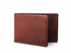 Bosca Small Bifold Wallet 81-158 158 Dark Brown