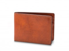 Bosca Small Bifold Wallet 81-217 217 Amber