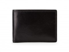 Small Bifold Wallet-219 Black
