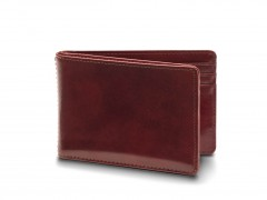 Bosca Small Bifold Wallet 8112-58 58 Dark Brown