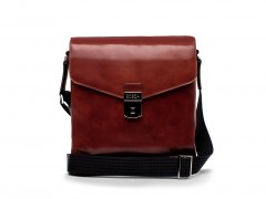 Bosca Man Bag 814-58 58 Dark Brown