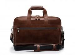 Bosca Single Gusset Stringer Bag 816-39 39 Teak