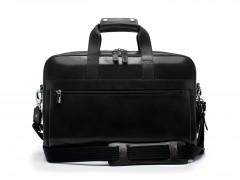 Bosca Single Gusset Stringer Brief Bag 816-59 59 Black