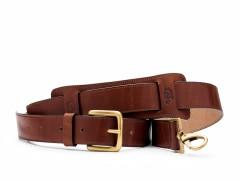 Bosca Deluxe All Leather Shoulder Strap 8170-218 218 Dark Brown