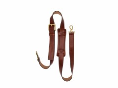 Bosca Deluxe All Leather Shoulder Strap 8170-58 58 Dark Brown