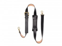 Bosca Deluxe All Leather Shoulder Strap 8170-59 59 Black